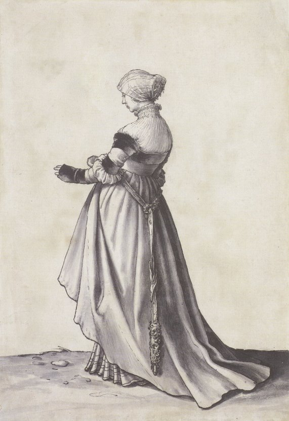Basel_Woman_Turned_to_the_Left,_Costume_Study_by_Hans_Holbein_the_Younger
